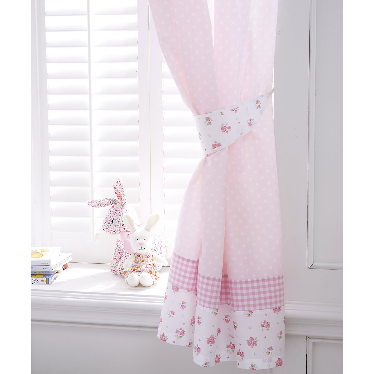 Mothercare Little Lane Tab Top Curtains